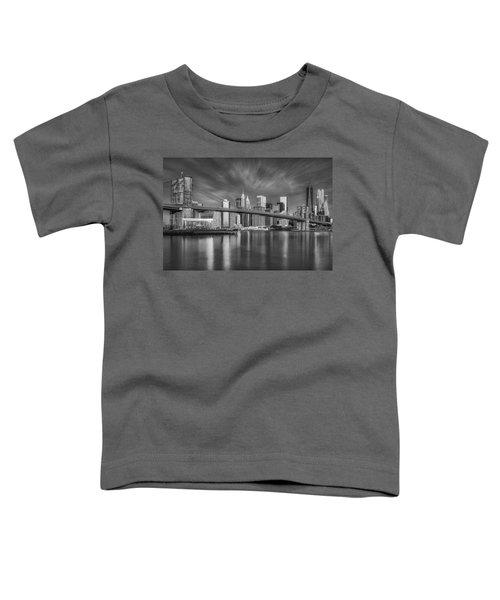 Brooklyn Bridge From Dumbo Toddler T-Shirt
