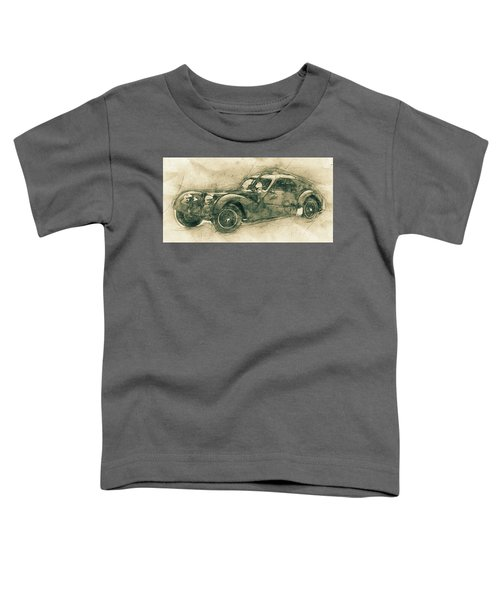 Bugatti Type 57 - Atlantic 3 - 1934 - Automotive Art - Car Posters Toddler T-Shirt