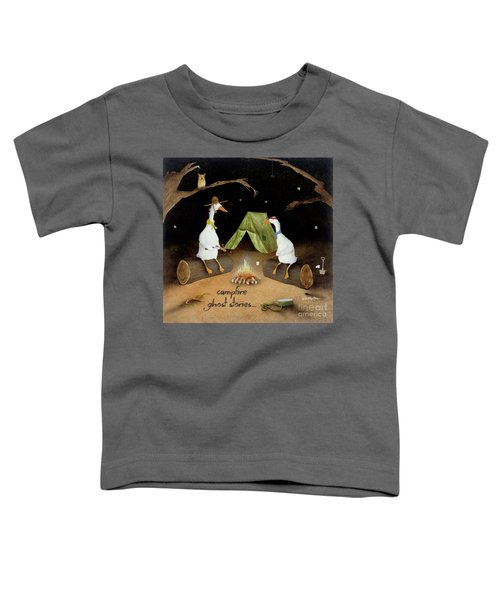 Campfire Ghost Stories Toddler T-Shirt