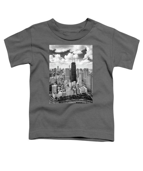 Chicago's Gold Coast Toddler T-Shirt by Adam Romanowicz