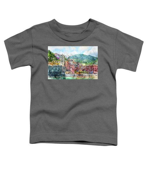 Cinque Terre Italy Toddler T-Shirt