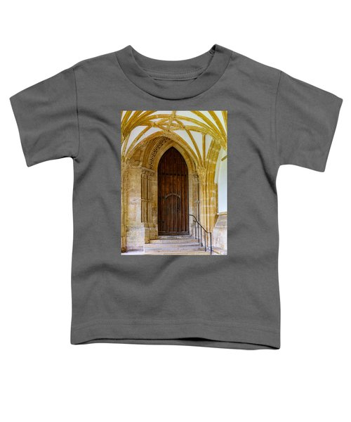 Cloisters, Wells Cathedral Toddler T-Shirt
