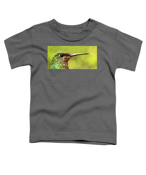 Close-up Of A Rufous-tailed Hummingbird Toddler T-Shirt