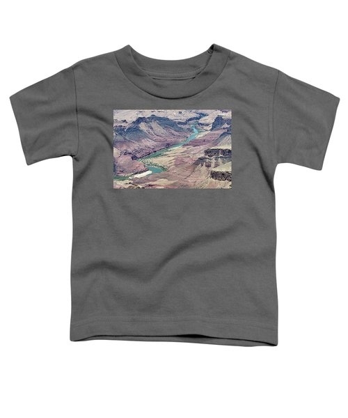 Colorado River In The Grand Canyon Toddler T-Shirt
