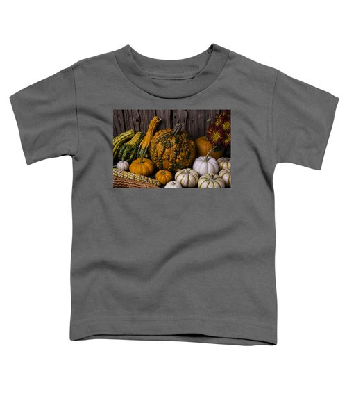 Colorful Autumn Still Life Toddler T-Shirt