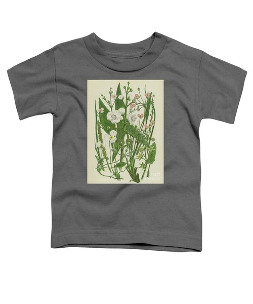 Common Star Fruit, Greater Water Plantain And Other Plants Toddler T-Shirt