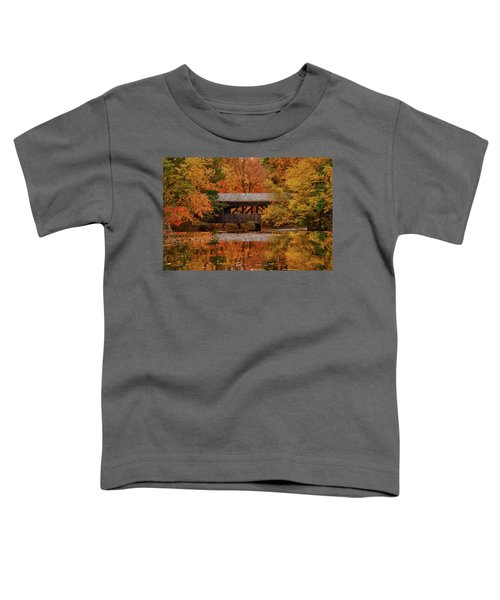 Covered Bridge At Sturbridge Village Toddler T-Shirt