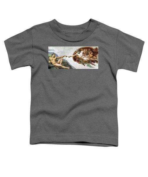 Creation Of Adam Toddler T-Shirt
