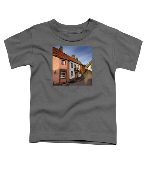 Toddler T-Shirt featuring the photograph Culross by Jeremy Lavender Photography