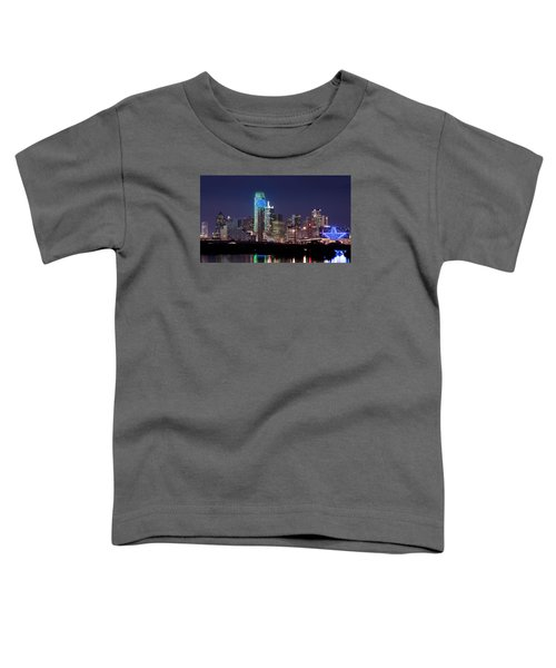 Dallas Skyline Cowboys Toddler T-Shirt
