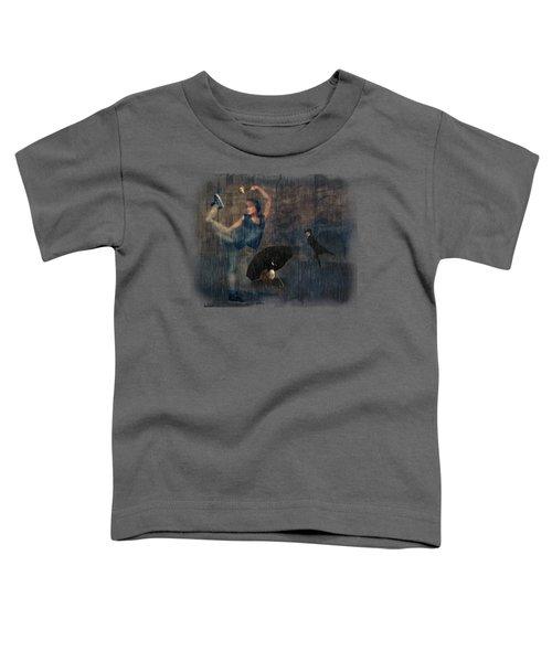 Dancing In The Rain Toddler T-Shirt