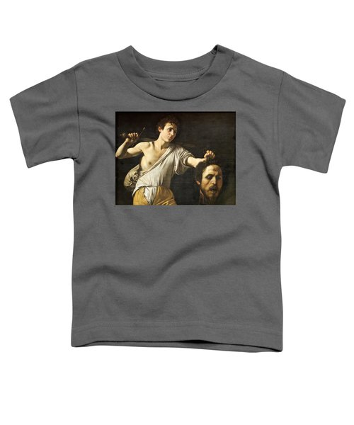 David With The Head Of Goliath Toddler T-Shirt