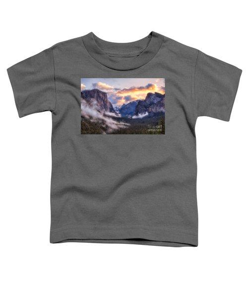 Daybreak Over Yosemite Toddler T-Shirt