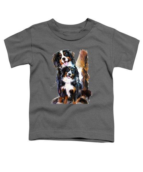 Dog Family Toddler T-Shirt