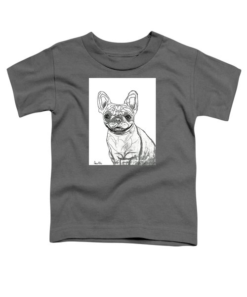 Dog Sketch In Charcoal 7 Toddler T-Shirt