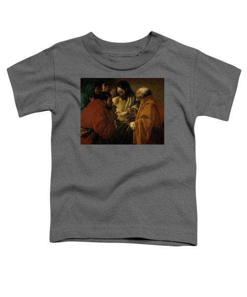 Doubting Thomas Toddler T-Shirt