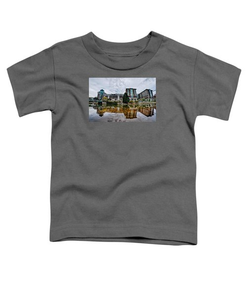 Downtown Of Greenville South Carolina Around Falls Park Toddler T-Shirt