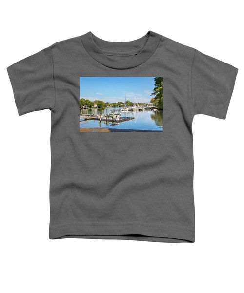 Early Fall Day On Spa Creek Toddler T-Shirt