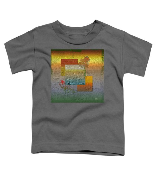 Early Morning In Boreal Forest Toddler T-Shirt