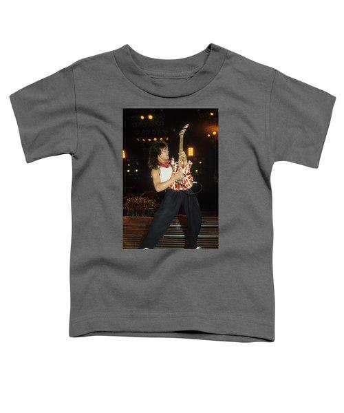 Eddie Van Halen Toddler T-Shirt