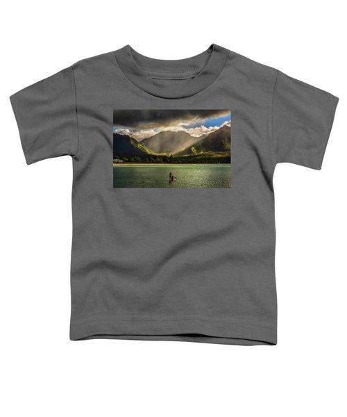 Facing The Storm Toddler T-Shirt
