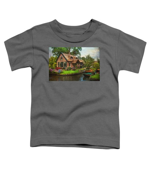 Fairytale House. Giethoorn. Venice Of The North Toddler T-Shirt