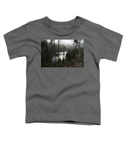 Firehole River In Yellowstone Toddler T-Shirt