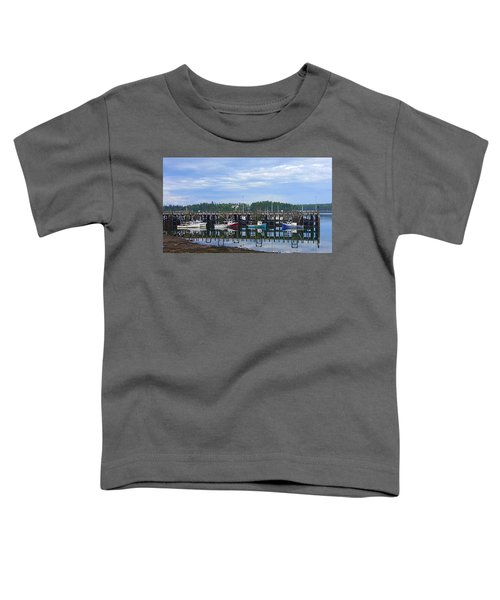 Fishing Boats - Beaver Harbour Toddler T-Shirt