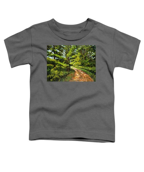Forest Pathway Toddler T-Shirt