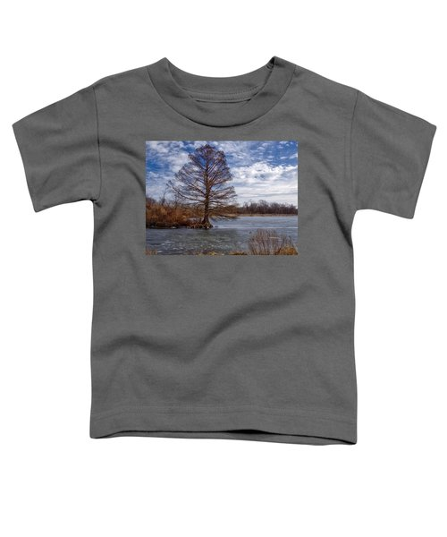 Frozen Lake Toddler T-Shirt