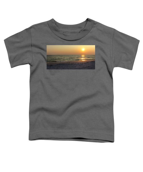 Golden Setting Sun Toddler T-Shirt