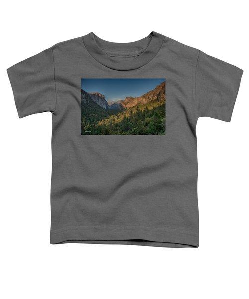 Golden Yosemite Toddler T-Shirt