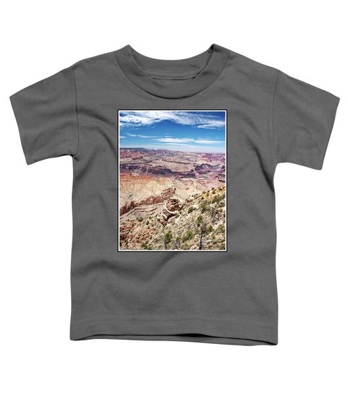 Grand Canyon View From The South Rim, Arizona Toddler T-Shirt