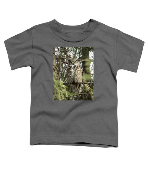 Great Horned  Toddler T-Shirt