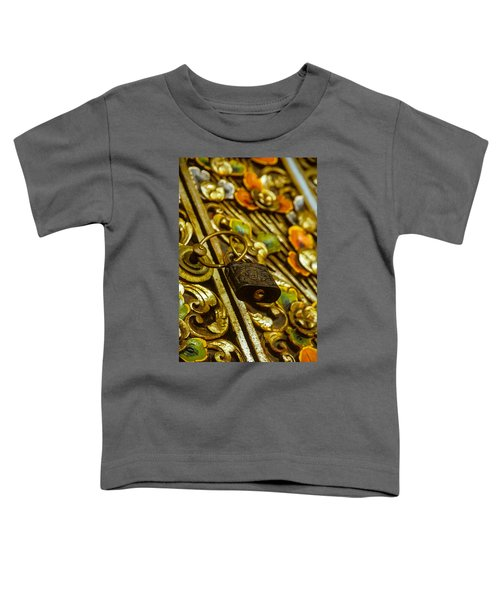 Hand Carved Security Toddler T-Shirt