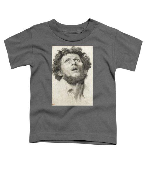 Head Of A Man Toddler T-Shirt