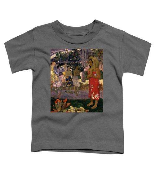 Ia Orana Maria Hail Mary Toddler T-Shirt