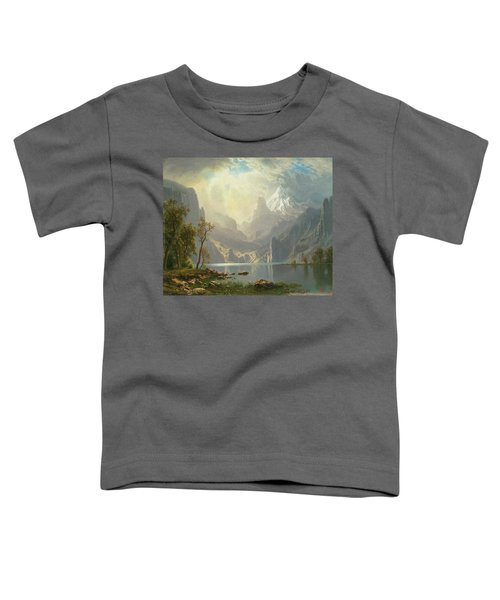 In The Sierras Toddler T-Shirt