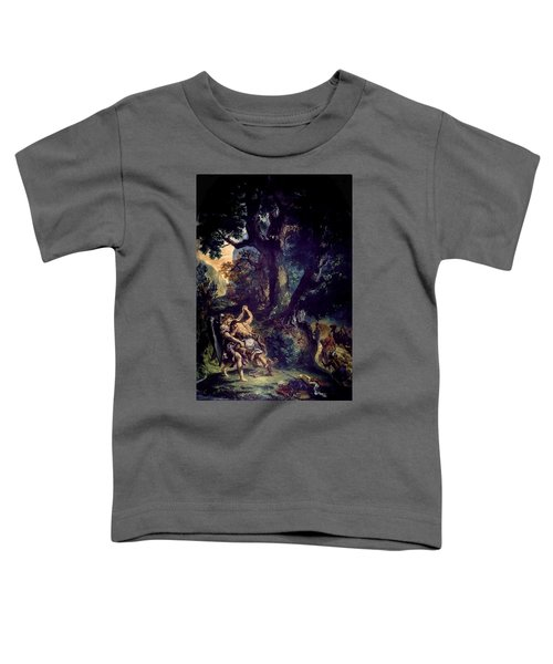 Jacob Wrestling The Angel Toddler T-Shirt