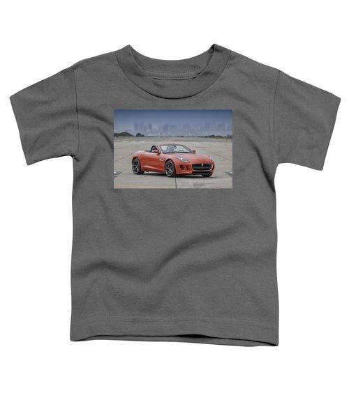 Jaguar F-type Convertible Toddler T-Shirt