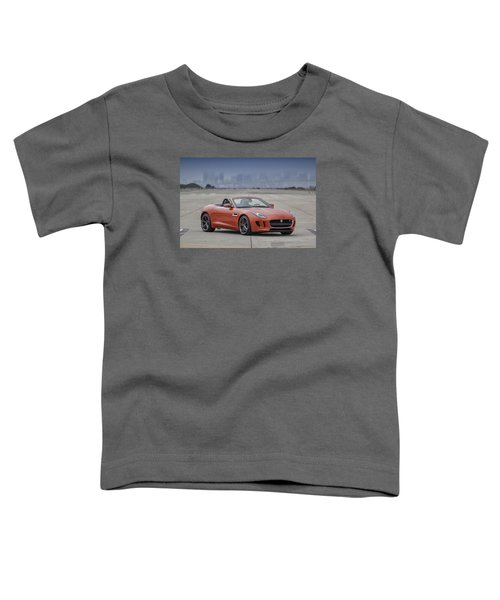 Jaguar F-type Convertible Toddler T-Shirt
