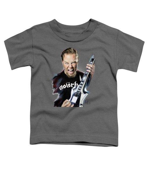 James Hetfield Toddler T-Shirt