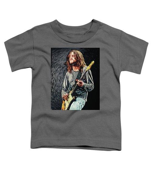 John Frusciante Toddler T-Shirt by Taylan Apukovska