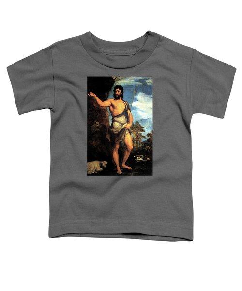 John The Baptist Toddler T-Shirt