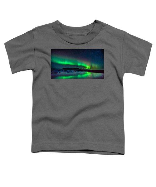 Jokulsarlon Aurora Toddler T-Shirt