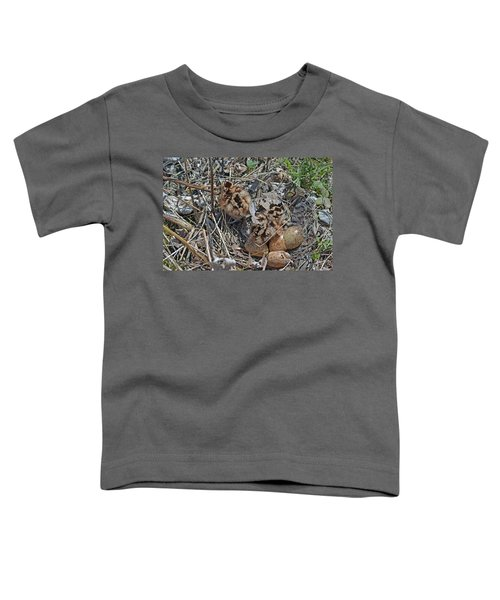 Just Hatched American Woodcock Chicks Toddler T-Shirt