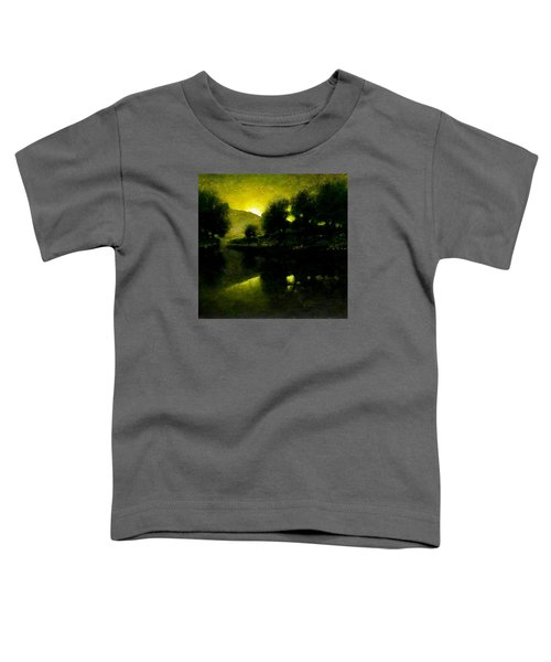 Lakeside Sunset Toddler T-Shirt