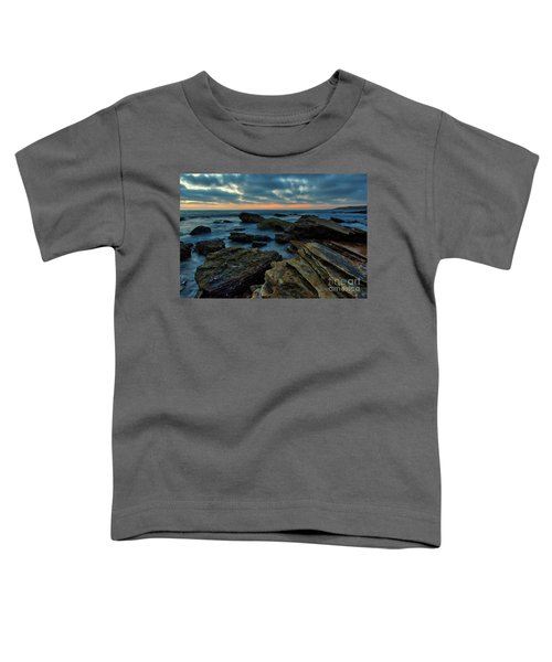 Last Light At Crystal Cove Toddler T-Shirt
