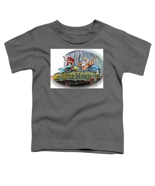 Little Mermaid Signage Mp Toddler T-Shirt