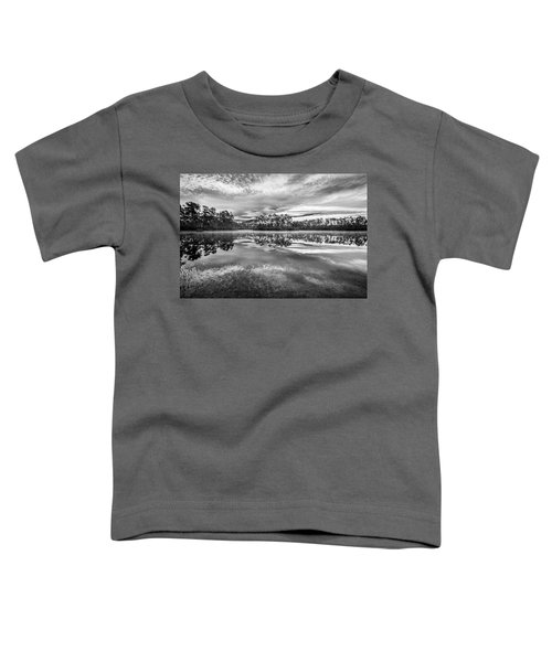 Long Pine Bw Toddler T-Shirt